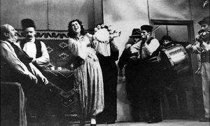 Predstava Koštana - Fredi Fazlovski i Ljubica Ljubojević 1949. godina