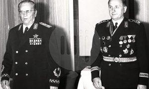 Tito i Nikola Ljubičić svojim najvažnijim ordenjem