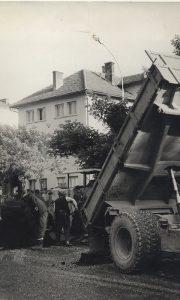 Asvaltiranje i popravka ulica pred Titov dolazak
