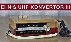 EI Niš UHF Konektor