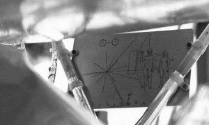 Pozlaćena ploča na na sondi Apolo