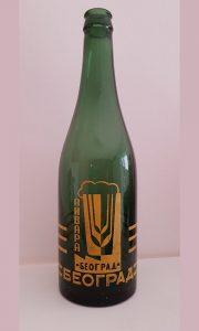 Prva posleratna serija pivskih boca, dosta kasnije poznati BIP