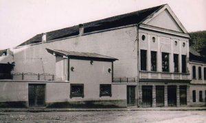 """Zgrada i bašta bioskopa """"Zlatibor"""""""