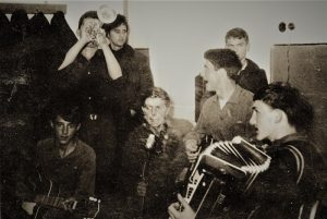 Prva užička bit grupa Veseli dečaci 1962. godine