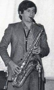 Zoran Antonijević Loker 1973. godine