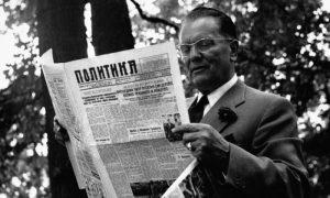"""Drug Tito je čitao """"Politiku"""""""