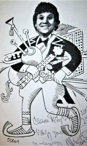 . Žika Radenković Čivija, Klasova karikatura
