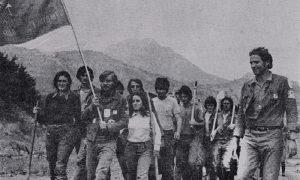 Užički brigadiri na Jabuci 1973.