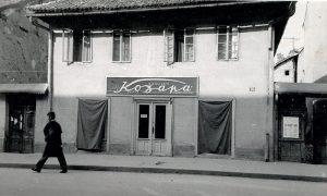 """Prodavnica """"Kozara"""" na Glavnoj ulici, na """"Lipi"""", tu preko puta Bloka Ce"""