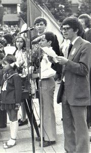 Milutin Đuričić, predsednik omladine Užica od 1974. godine