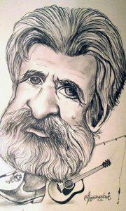 Kauboj karikatra Ž. Tomašević