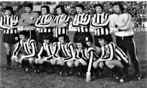 Amaterski snimak tima Partizana na 54 derbiju u trenutku kada su izašli na teren