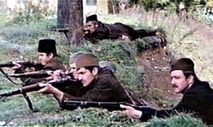 Scena Bitke na Kadinjači iz filma Užička republika