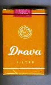 """Drava jedna od njeftinijih YU cigareta zv. """"krdža"""""""