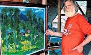 Božidar Kovačević je prvenstveno slikar Zlatibora, to je bio njegov najvažniji motiv celoga života