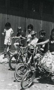 Mali užički biciklisti iz sedamdetih