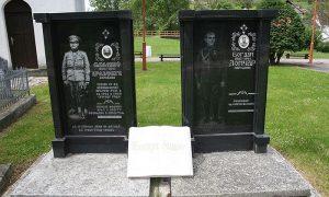 Spomenik na grobovima ubijenih žandara