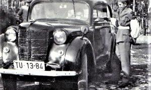 Pionir Petrović sa Rosulja u ulozi saobraćajca