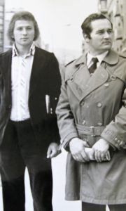 Dragomir Žunić Žuna sa trenerom Cvijovićem