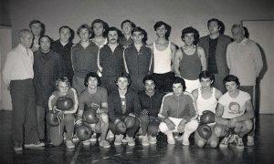 Bokserski klub Sloboda 1975. godine
