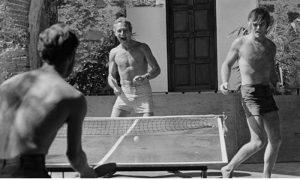 Ping pong dvorišni sport kako u Holivudu tako i u Užicu